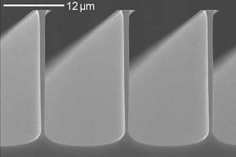 Silicon micostructures Plasma_Etchlab 200