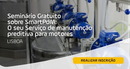 Jornadas gratuitas sobre SmartPdM: o teu serviço de manutençâo predictiva para motores